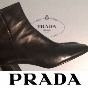 PRADA boot**IN STORES NOW**